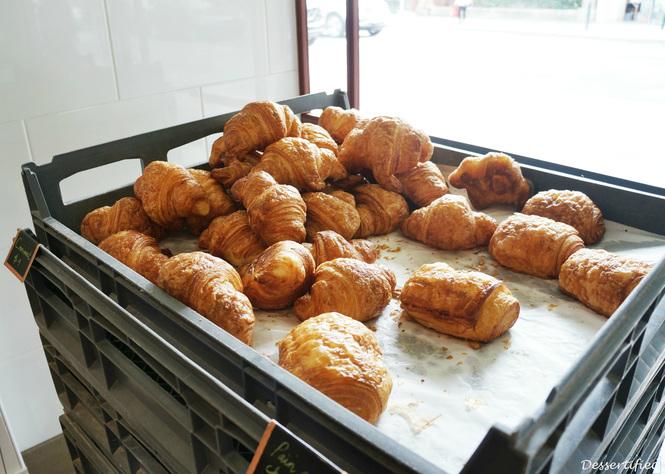 fresh croissants victoire bakery